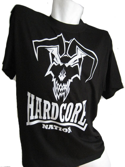 T-shirt Hardcore Nation Jester